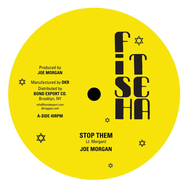"Image of Joe Morgan - Stop Them / Warrior 12"" (Fish Tea)"
