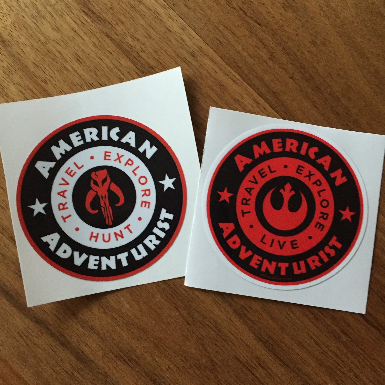 Image of AAV Rebel Themed Decal Set