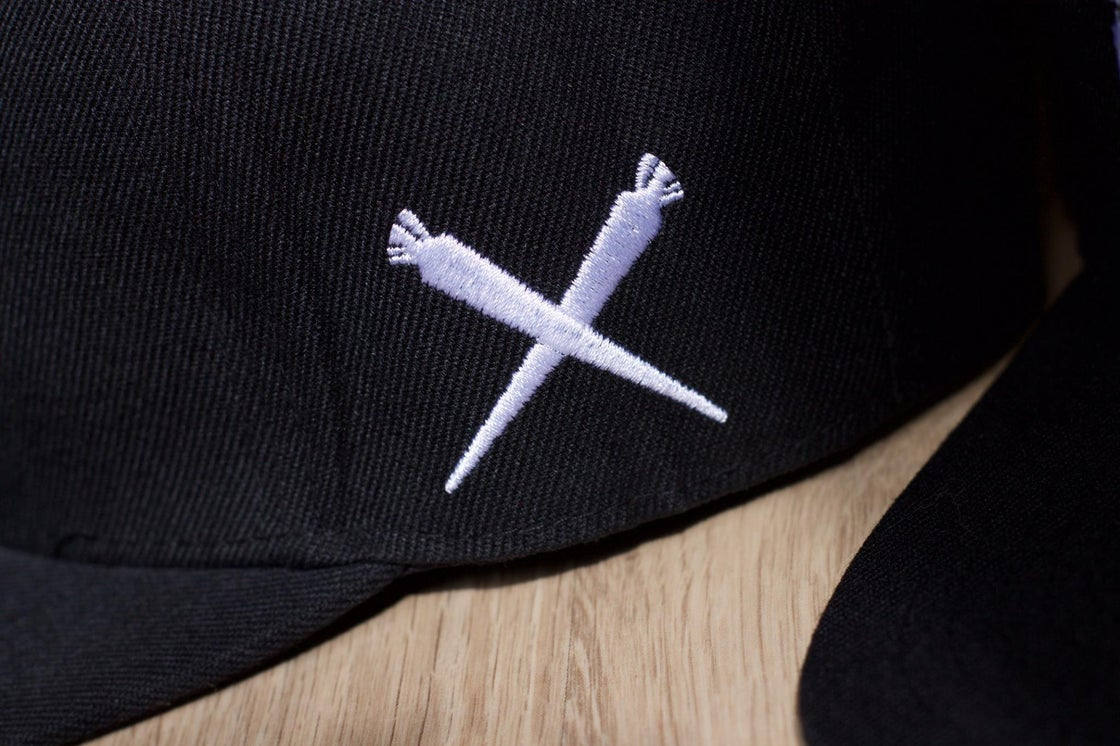 Image of Limited Edition Don't Flop x Mary Jane UK Snapback | Black