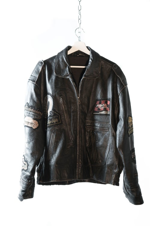 Image of Indianapolis Racing Leather Jacket