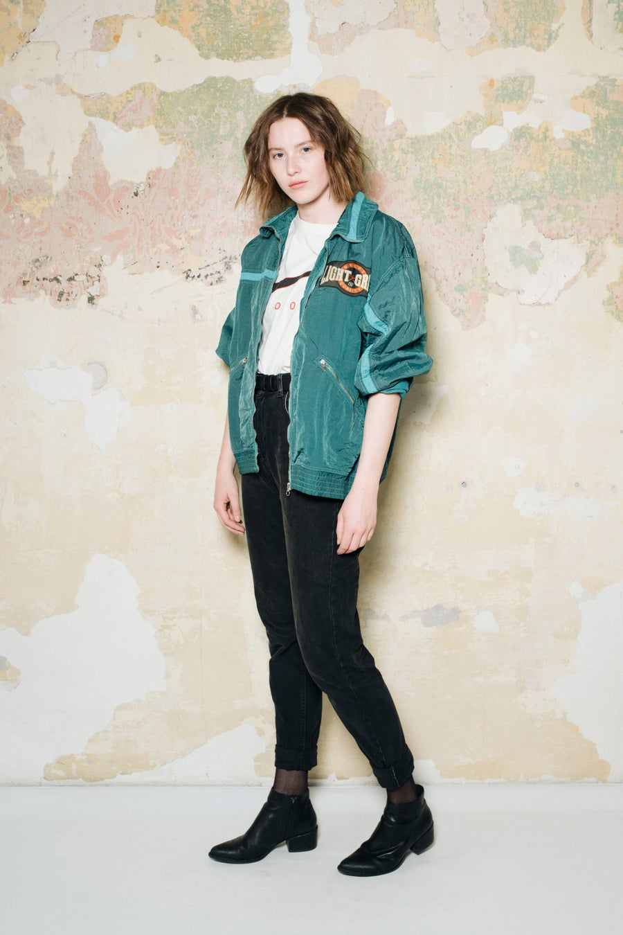Image of Vintage Sports Track Jacket