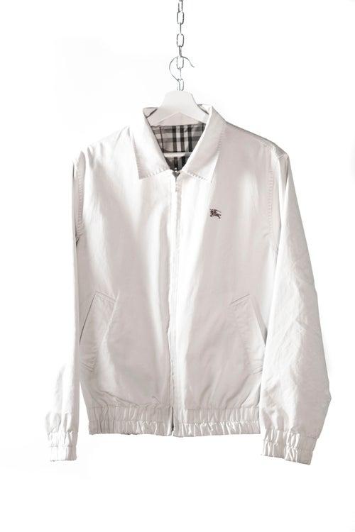 Image of Burberry Reversable Harrington Jacket