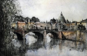 Image of Ponte Sant'Angelo, Rome, Italy