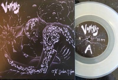 "Image of Vokonis - The Sunken Djinn 7"" Clear Vinyl Edition"