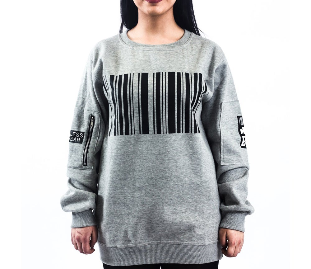 Image of Largelogo Crewneck Grey [2016 edition]
