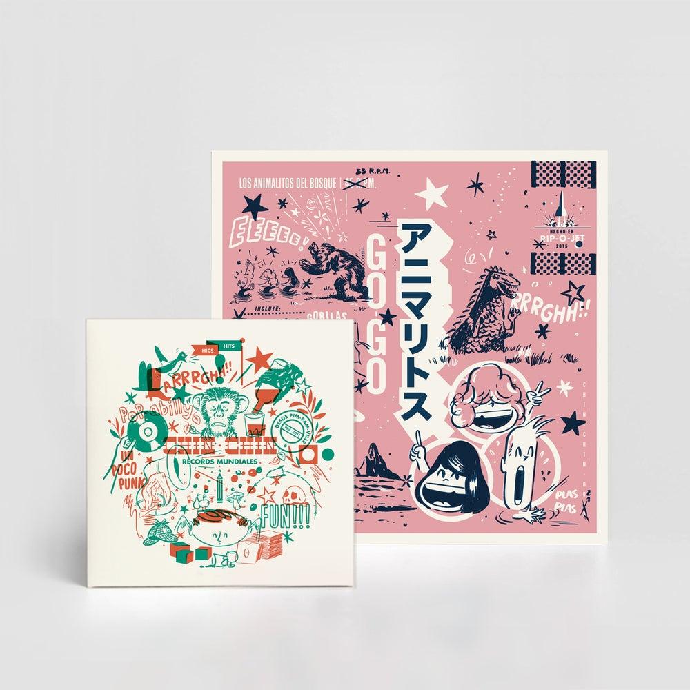 Image of Chin-Chin R. M. - 7'' & CD