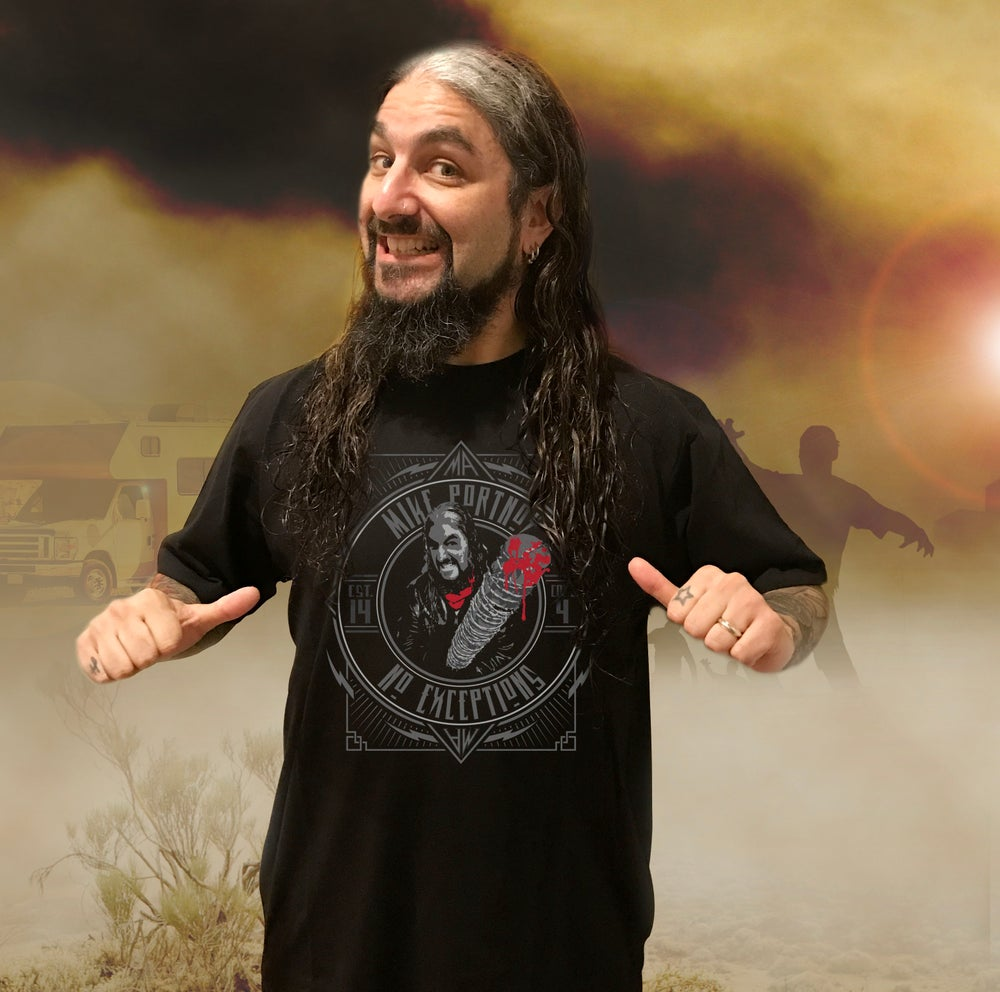 "Image of Mike Portnoy ""No Exceptions"" T-Shirt (Pre-Order)"