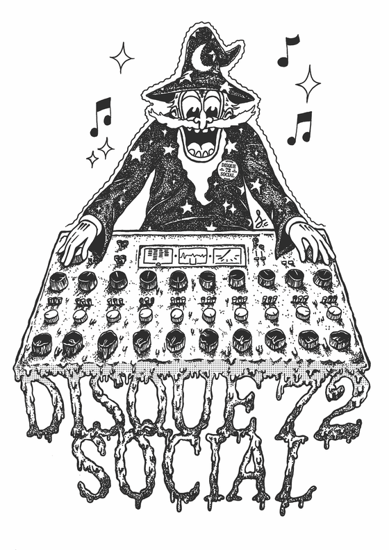 Image of Disque 72 Social - Wizard T Shirt