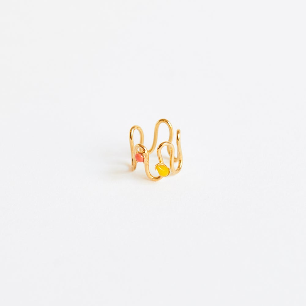 Detalle de Six Waves ring