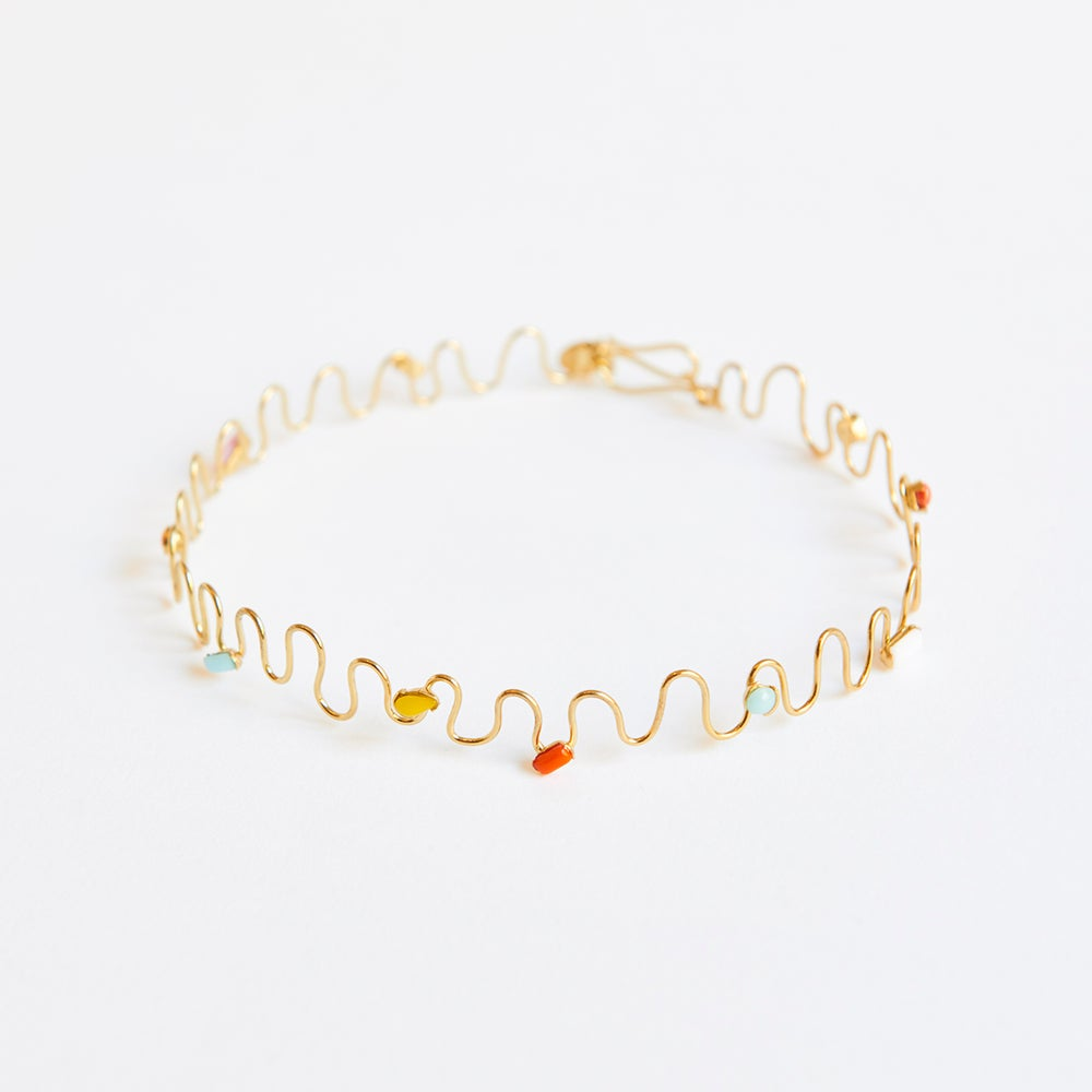 Detalle de Six Mini waves choker