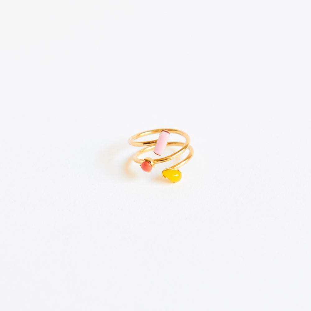 Detalle de Six Three sparks ring