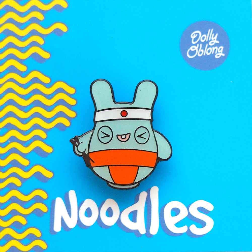 Image of Noodles pin