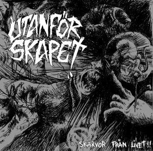 Image of UTANFORSKAPET - SKARVOR FRAN LIVET!!! EP