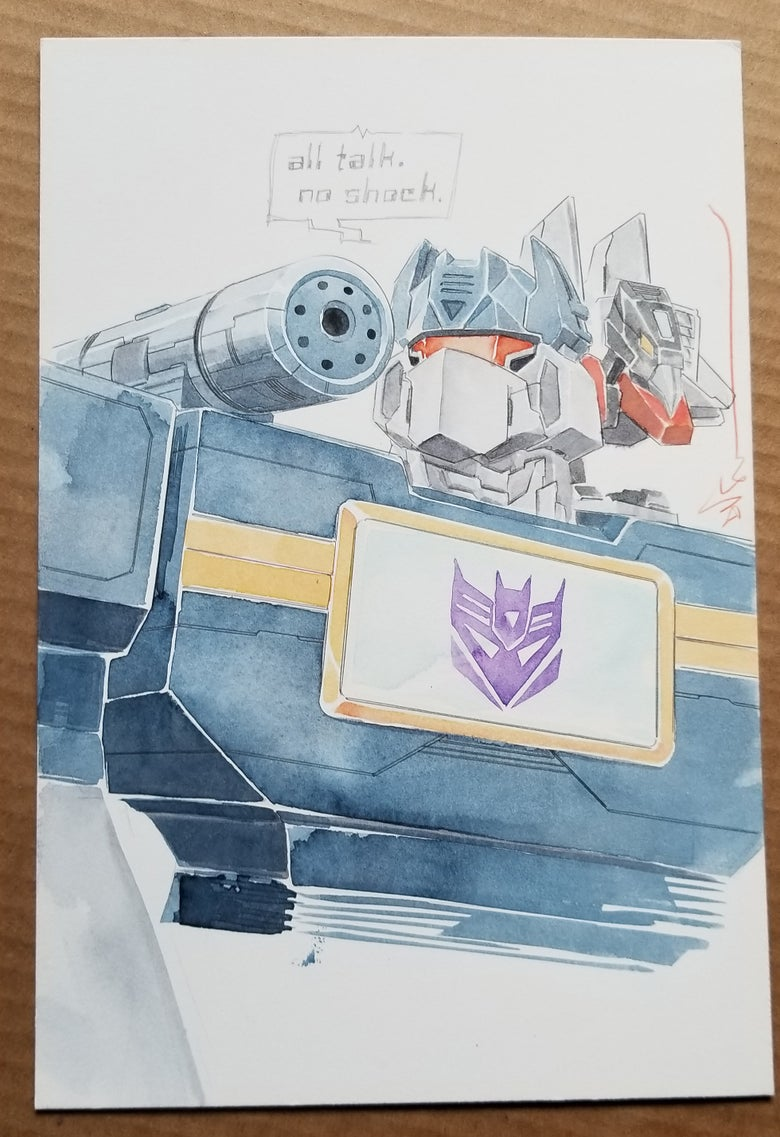 Image of Decepticon SOUNDWAVE