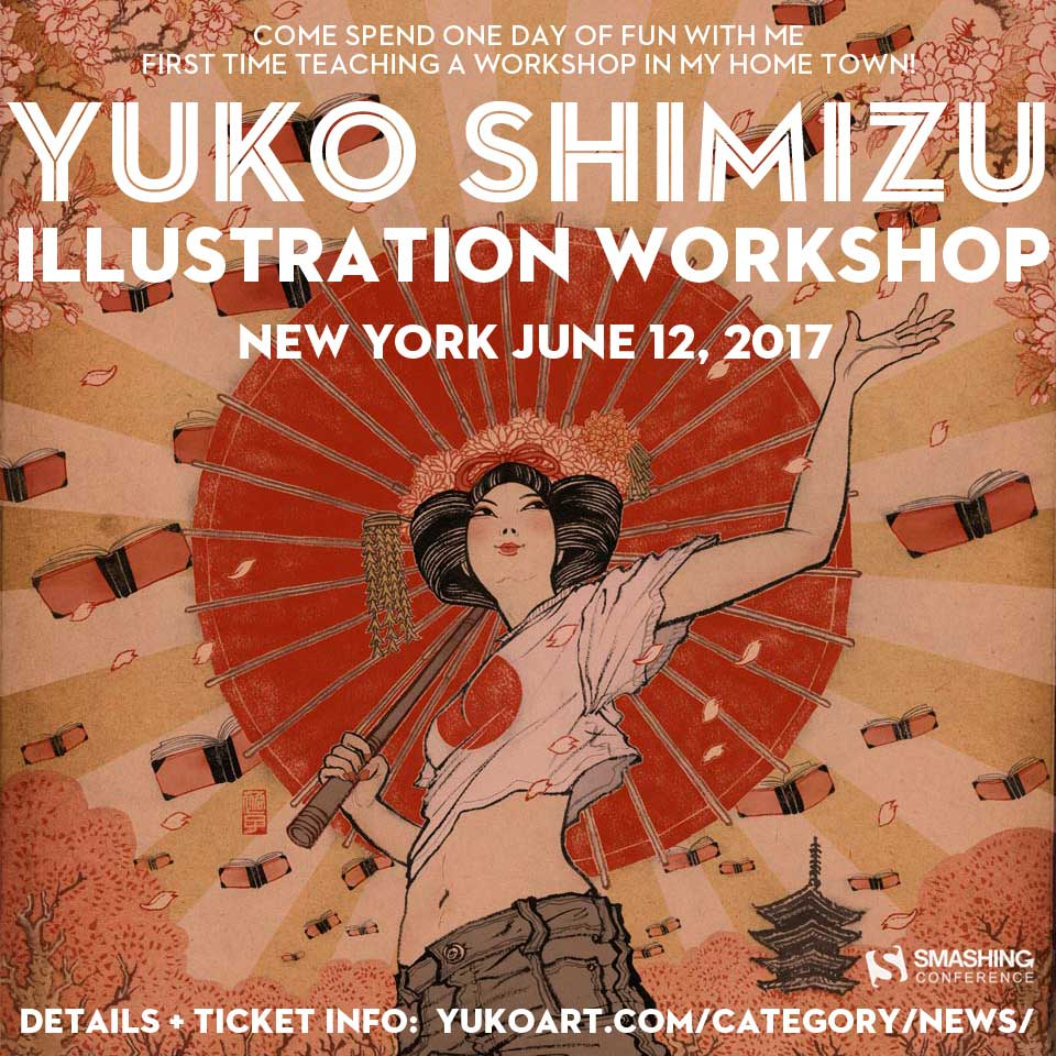 Image of one day illustration workshop in New York