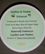 Image of Leather & Timber Enhancer (polish) made by Dawn View Olive Oil.
