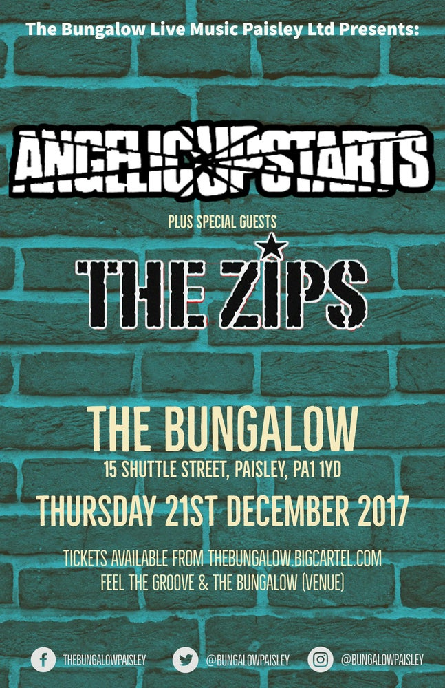 Image of Angelic Upstarts + The Zips