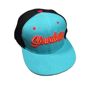 Image of Slowdown Snap back Turquoise