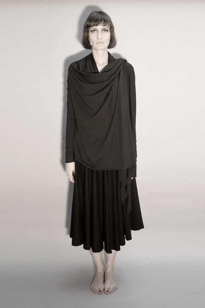 Image of SACRED: TARSAINN CARDIGAN TOP