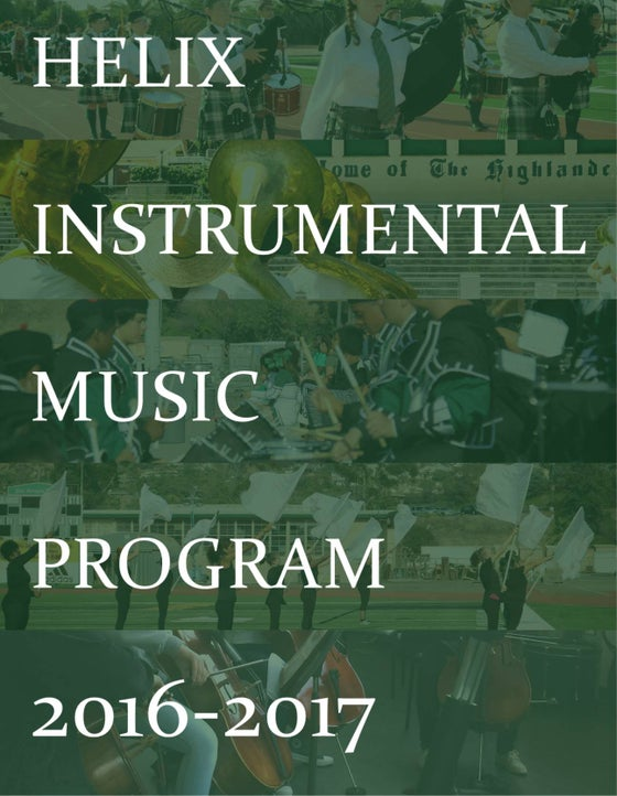 Image of 2016-17 Program Yearbook