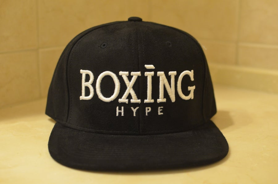 Image of Classic BoxingHype SUEDE SnapBacks
