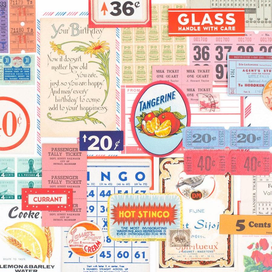 Image of Vintage Paper Pack - Color