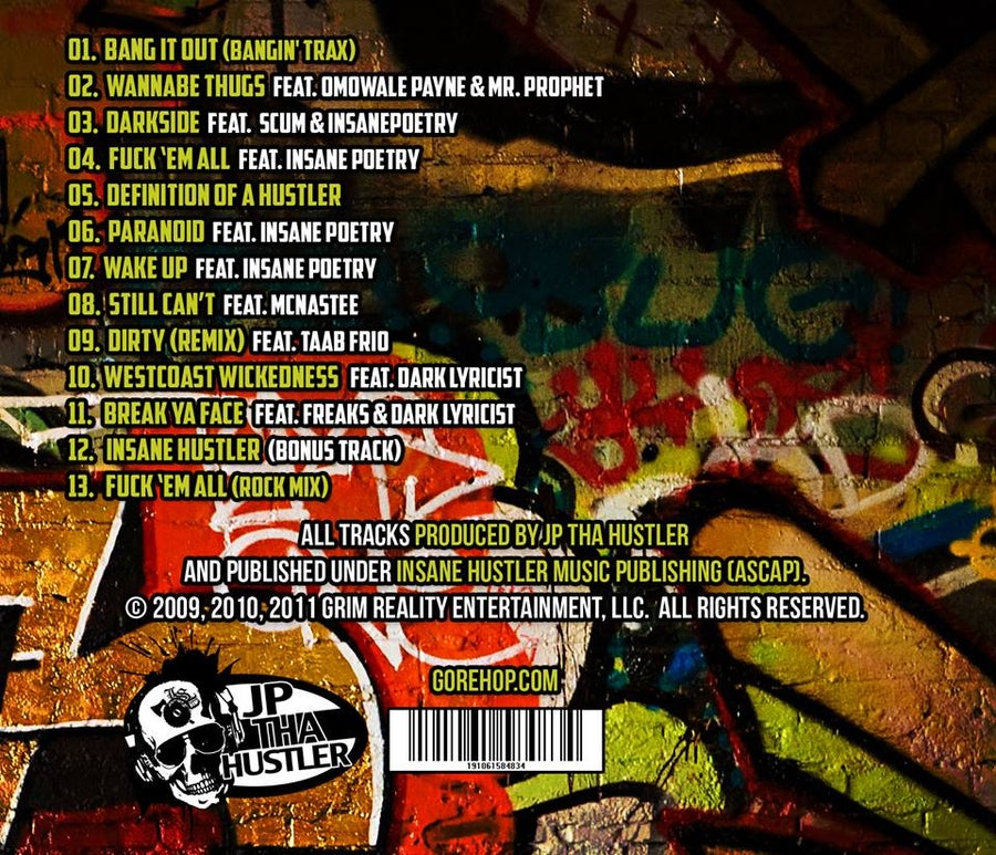 Image of JP THA HUSTLER- DEFINITION CD