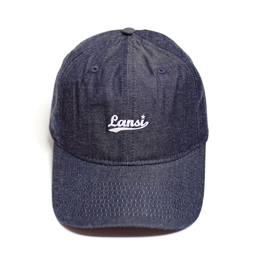 "Image of LANSI ""Denim"" Baseball Cap"