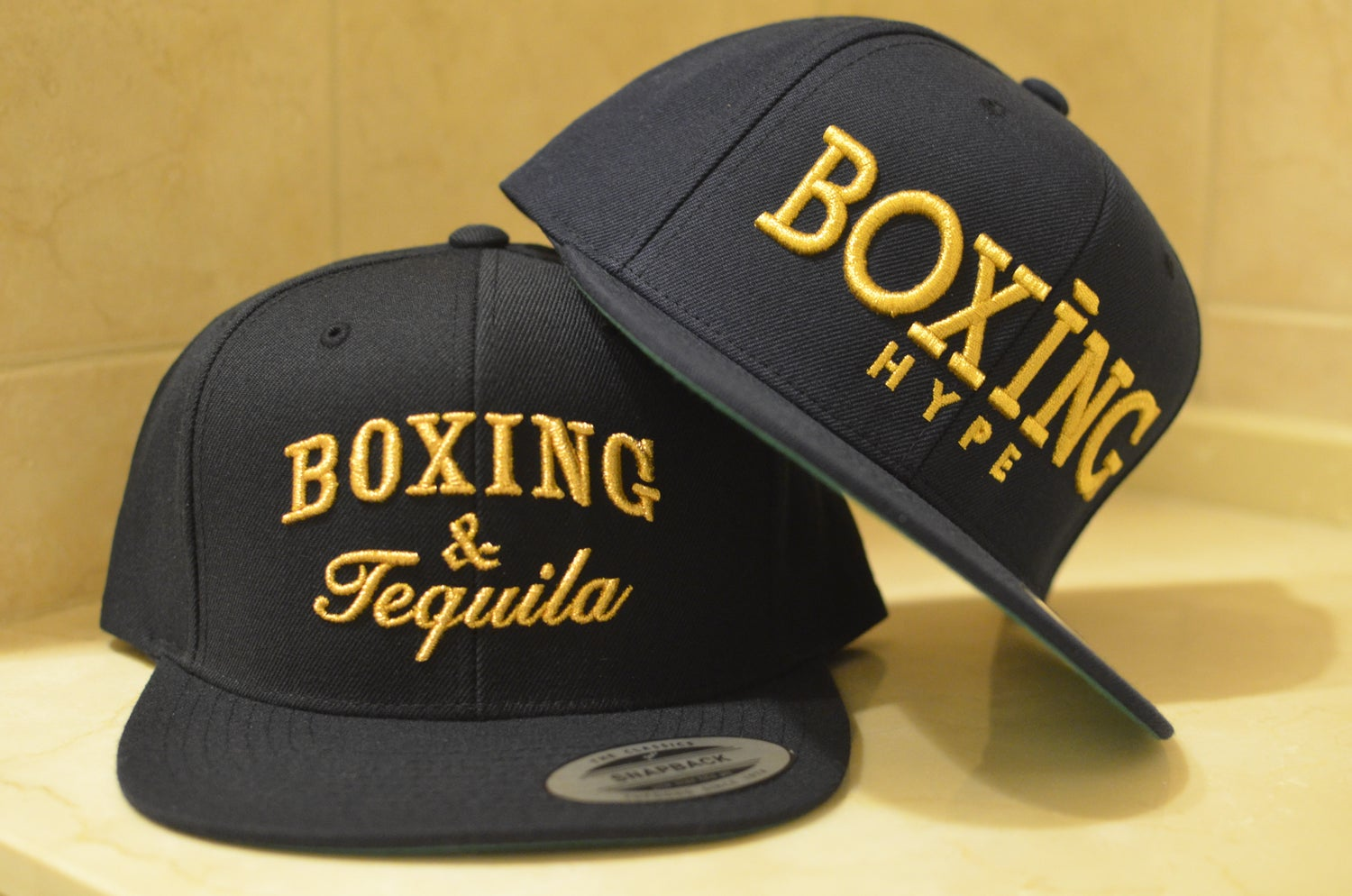 Image of Classic NAVY GOLD BoxingHype Collection