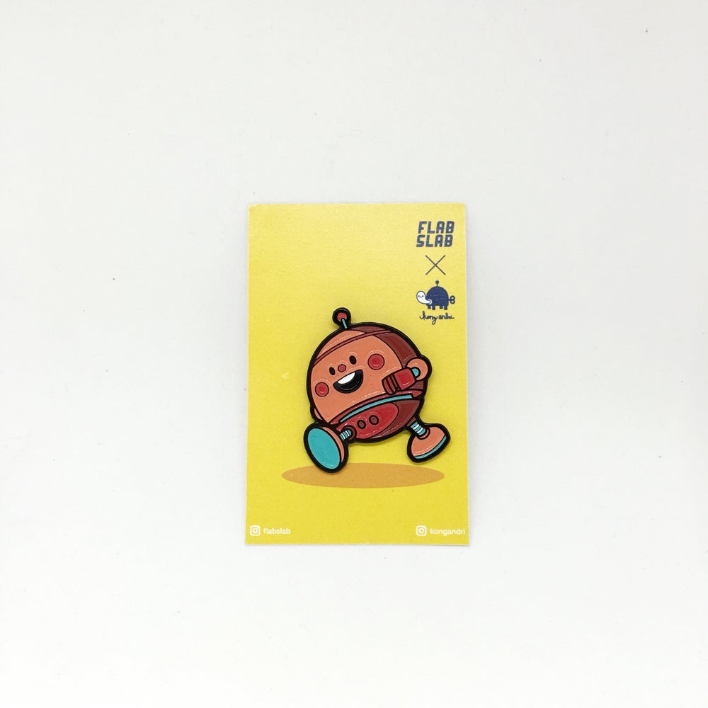 Image of owangebot Enamel Pin