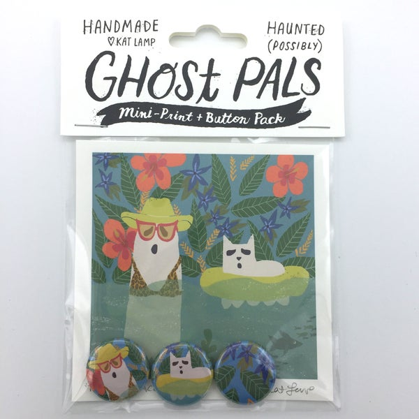 Image of Ghost Pals- Tropical Vacation