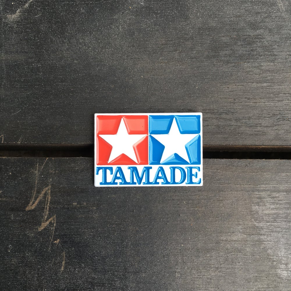 Image of TAMADE No. 2 enamel pin