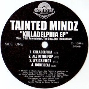 "Image of TAINTED MINDZ ""KILLADELPHIA EP"" (BLACK VINYL)"