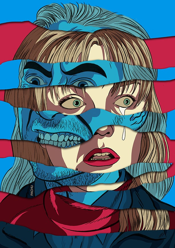 Image of Laura Palmer VS BOB