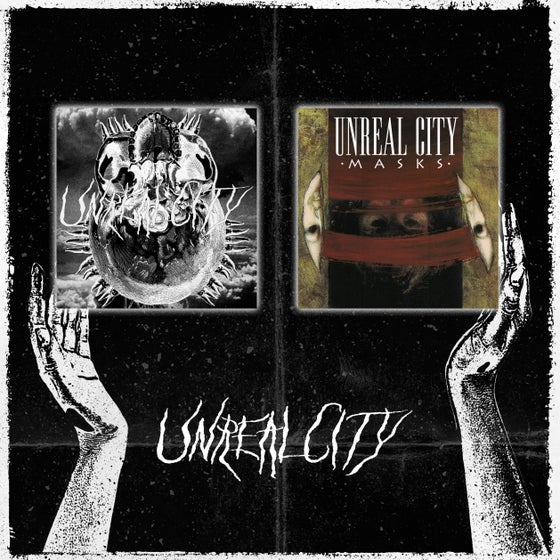 "Image of Unreal City - Oath 7"" + Masks 7"""