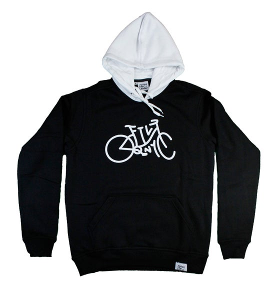 Image of Cruiser Hooded Sweatshirt (Black)