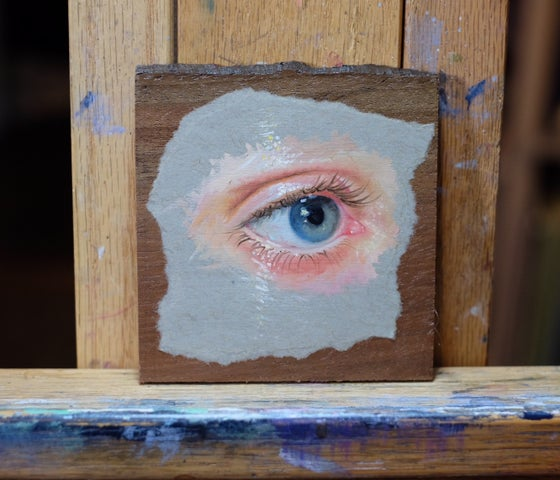 Image of Eye Study #2 Original Painting