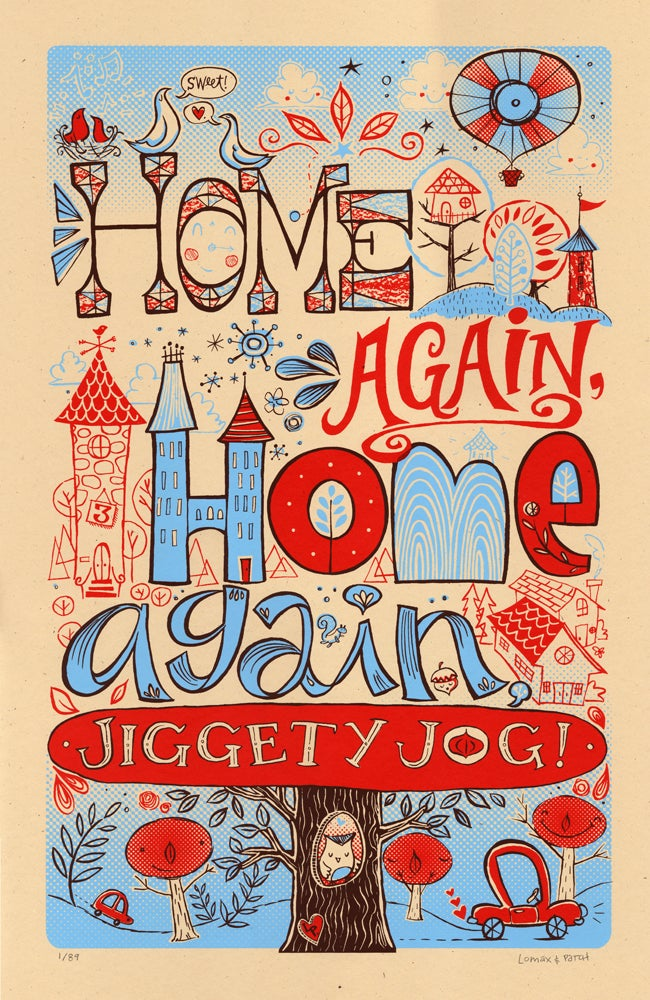 "Image of ""Home Again, Home Again, Jiggety Jog!"" by Lomax and Patch"