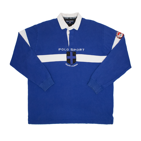 Image of Polo Sport Ralph Lauren Vintage Rugby Artic Challenge XL