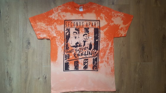 Image of #TFFTOUR Orange Acid Tee