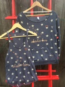 Image of Stars and Hearts Slouchy Sweatshirt