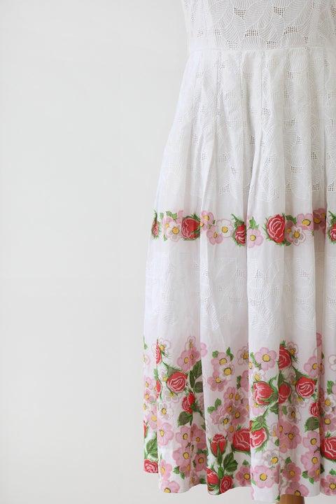Image of Spring Fling Eyelet Cotton Dress