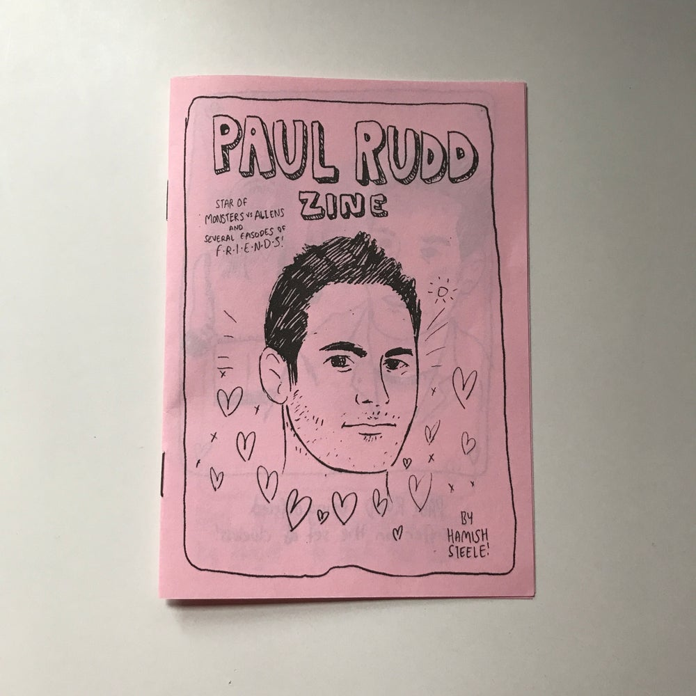 Image of Paul Rudd Zine