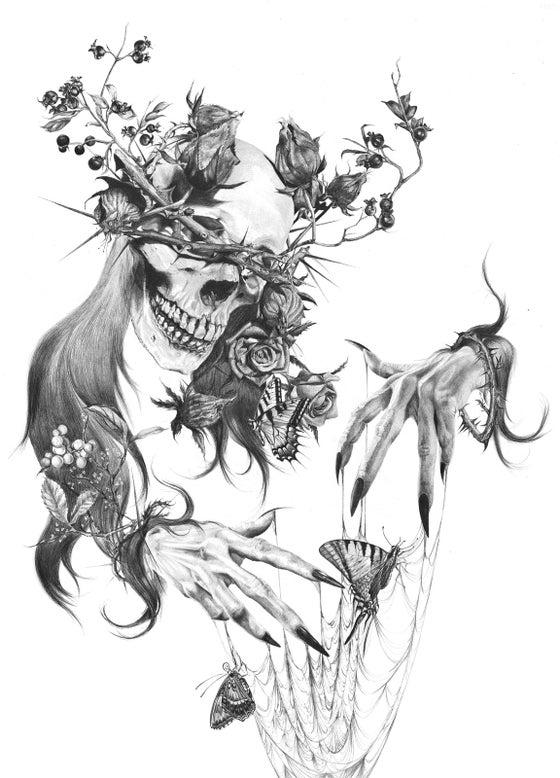 "Image of Tristeza Giclée Print 20"" x 24"""
