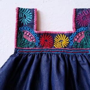 Image of Denim Dream Dress CORAL