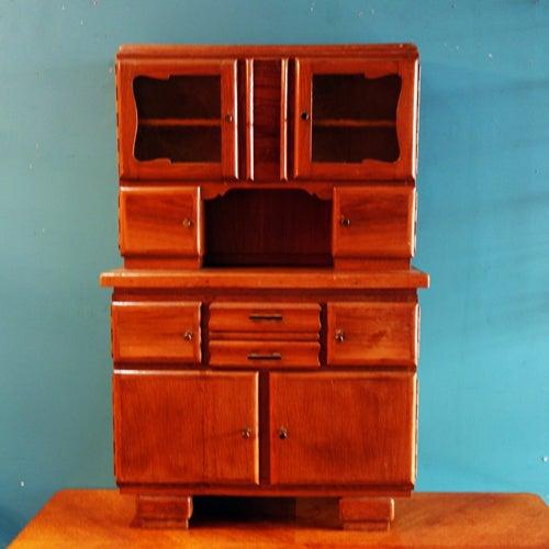 Image of Petit Buffet mobilier enfant années 50