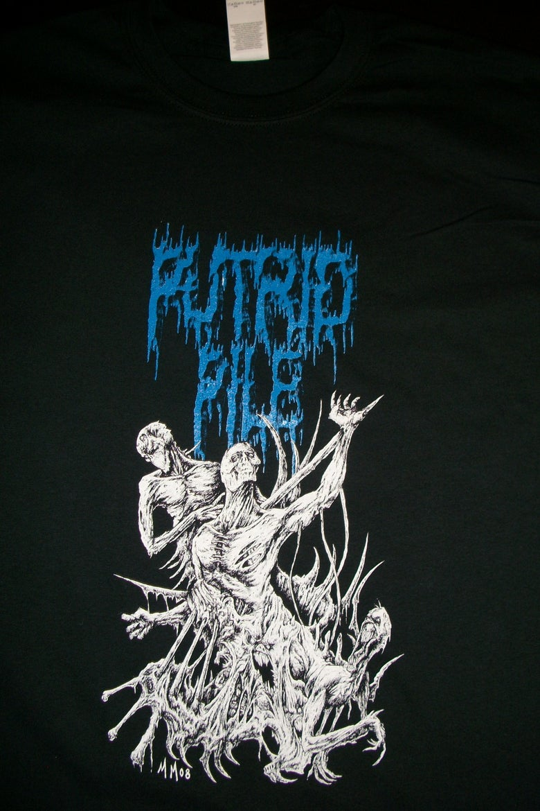 Image of PUTRID PILE MAJEWSKI ART T SHIRT (IN STOCK)