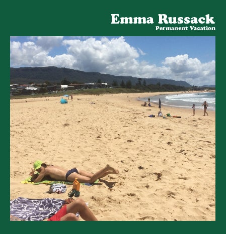 "Image of Emma Russack ""Permanent Vacation"" CD"