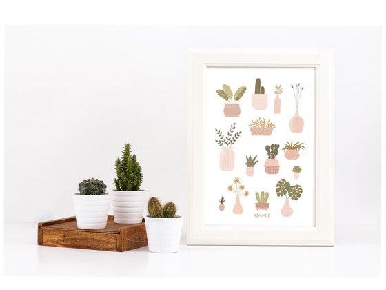 Image of Affiche A3 Mon Jardin Secret / My Secret Garden A3 poster SOLDE -30%