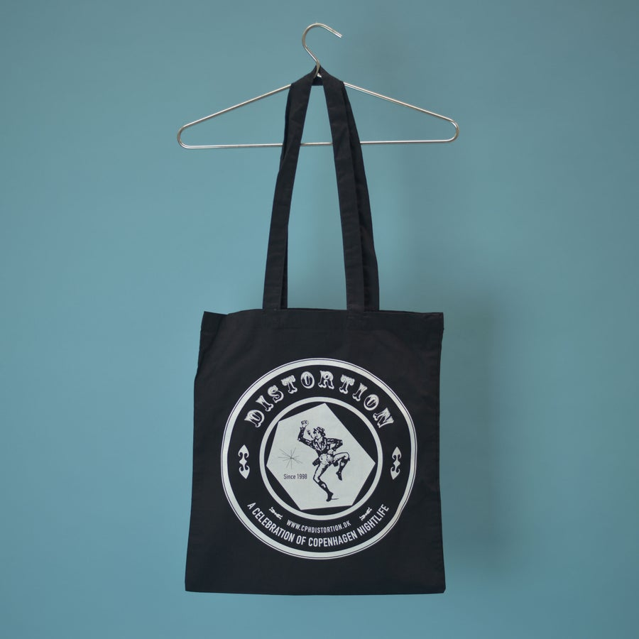 Image of Black Logo Tote Bag